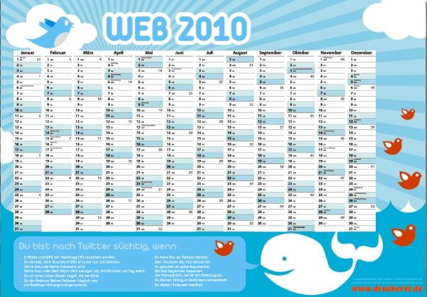 Twitterkalender 2010